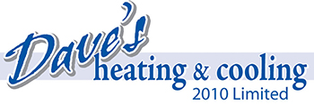 Dave's Heating and Cooling Logo